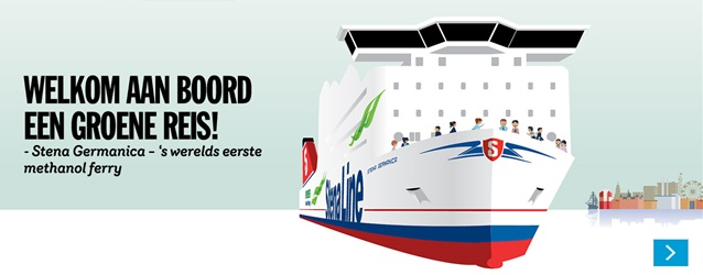 stena methanol ferry banner